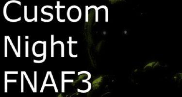 FNAF 3: Custom Night