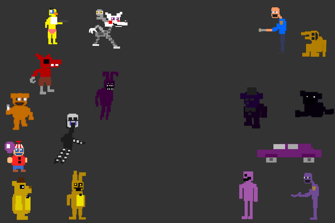 Five Nights at Freddy's Minigame Bash
