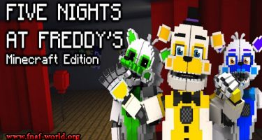 Five Nights at Freddys : Minecraft Edition [FNaF : MCE]